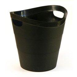 Корзина Унипласт для бумаг 220519 цельная 2002 14 литров черный