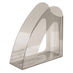 Лоток для бумаг Унипласт вертикальный 220480 2000 дымчатый 240х90х240мм