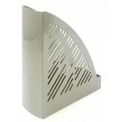 Лоток вертикальный Унипласт 220491 Уни-85 серый 250х90х300мм