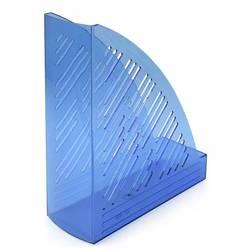 Лоток вертикальный Унипласт 220492 Уни-85 прозрачно-синий 250х90х300мм