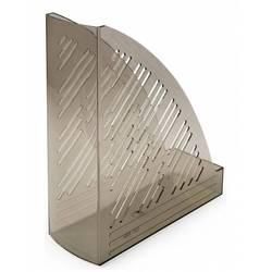 Лоток для бумаг Унипласт вертикальный 220494 Уни-85 дымчатый 250х90х300мм