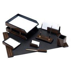 Набор настольный Good Sunrise 8FE-1A деревянный/МДФ 8 предметов фактура черное дерево