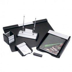 Набор настольный Good Sunrise BK6MU деревянный/МДФ c элементами из алюминия 6 предметов черный