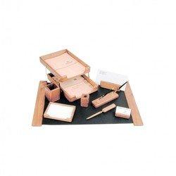 Набор настольный Good Sunrise K9D-1 деревянный 9 предметов фактура - дуб оттенок - светлый