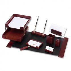 Набор настольный Good Sunrise M9D-1 деревянный 9 предметов фактура - красное дерево оттенок - темный