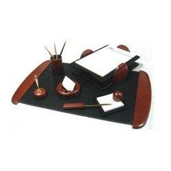 Набор настольный Good Sunrise RS7MJ-1A деревянный/МДФ 7 предметов красное дерево/черный