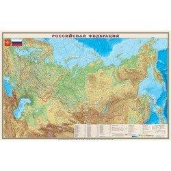 Настольное покрытие Бюрократ BDM2100F Карта РФ физическая 375ммх580мм