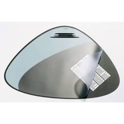 Настольная подкладка Durable для письма c прозрачным листом и желобком 51*69см черная