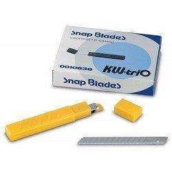 Сменные лезвия KW-trio 0010638 9мм для канцелярского ножа 3563 10 лезвий в тубе