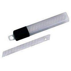 Запасные лезвия 9 мм к канцелярским ножам (Alco 128) (12шт)
