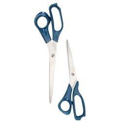 Ножницы офисные с титановым покрытием 21.5 см (Alco 1551) (синий)