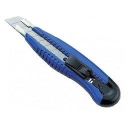 Нож канцелярский (KW-trio 3713blu) (синий)