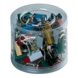 Набор зажимов Alco 779-26 Foldback-Clips 15мм ассорти 60шт пластиковая упаковка
