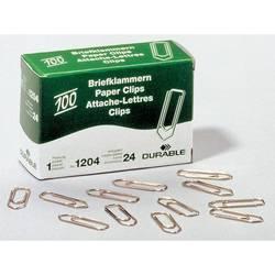 Cкрепки Durable медные 26 мм 100 шт в коробочке