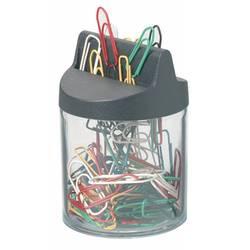 Скрепочница Durable магнитная (вкл 125 цветных скрепок)