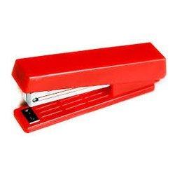 Степлер KW-trio 5280red N10 до 10 листов 50 скоб встроенный антистеплер красный