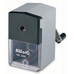 Точилка механическая KW-trio 305A для карандашей до 8 мм пластиковый корпус 70x79x90мм ассорти