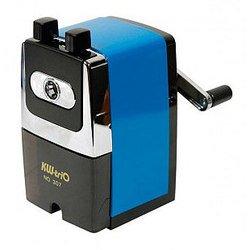 Точилка KW-trio 307Ablu механическая металлический корпус синий 72х110х135мм