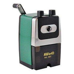 Точилка KW-trio 307Agrn механическая металлический корпус зеленый 72х110х135мм