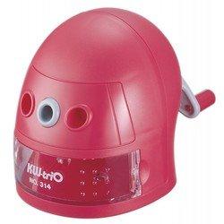 Точилка механическая KW-trio 314Ared Робот пластиковый корпус красный 97х130х110мм