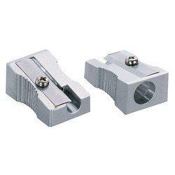 Точилка механическая KW-trio 3402 мини алюминиевая