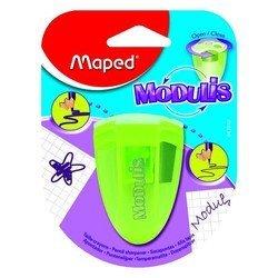 Точилка Maped Modulis 2 отверстия с контейнером для острой и округлой заточки