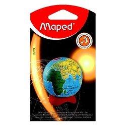 Точилка Maped Globe 1 отверстие с контейнером в виде глобуса