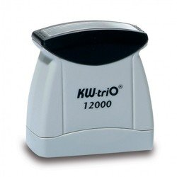 Штамп KW-trio 12010 со стандартным словом  пластик цвет печати ассорти