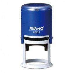 Самонаборный круглый штамп KW-trio 12633-R2 диам 40мм 2 круга