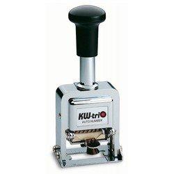 Нумератор KW-trio 20600 автоматический 6 разрядов высота цифр 4.8мм металлический
