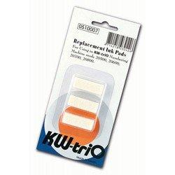 Штемпельная подушка KW-trio 510007 для автонумератора 20600/20700/20800 набор 3шт