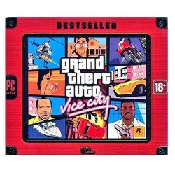 игра pc bestseller. grand theft auto vice city (29498)