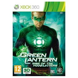 игра microsoft xbox360 green lantern: rise of the manhunters (3d) eng (29746)