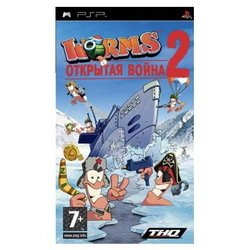 игра sony playstation portable (essentials) worms: открытая война 2 (30495)
