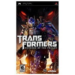 Игра Sony PlayStation Portable Transformers: Revenge og the Fallen (Essentials) eng (30400)