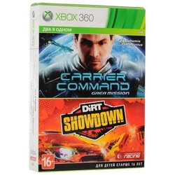 игра для xbox360 carrier command: gaea mission + dirt showdown