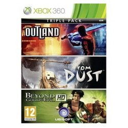 игра для xbox360 tri pack bge + outland + from dust xbox