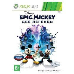 игра для xbox360 microsoft disney. epic mickey: две легенды русская версия