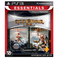 игра для ps3 sony god of war collection 1 (essentials) русская версия