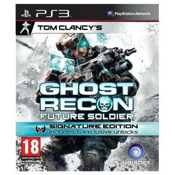 игра для ps3 sony tom clancy's ghost recon future soldier. signature edition русская версия