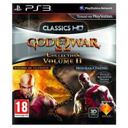 игра для ps3 god of war collection 2 (русская версия)