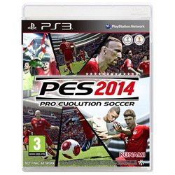 игра для ps3 sony pro evolution soccer 2014