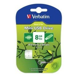 Verbatim Store n Go Mini 8Gb (ELEMENTS EDITION 98160) (Earth)