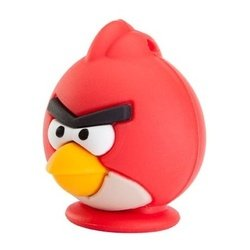 emtec angry birds 8gb (ecmmd8ga100z2) (red bird zone 2)