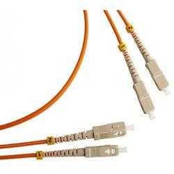 Патч-корд оптический, дуплексный, SC/PC-SC/PC, MM 50/125, 2 м (TWT-2SC-2SC/M5-2.0)