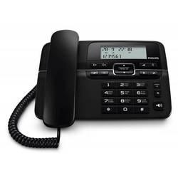 Телефон проводной Philips (CRD200B/51) (черный)
