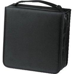 Портмоне Hama H-33837 + чистящая салфетка для CD (черный)