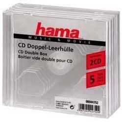 ������� Hama H-44752 Jewel Case ��� 2xCD 5 �� (����������)