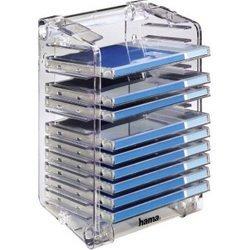 Стойка Hama H-48004 Rack&Stack для 12 СD (прозрачная)