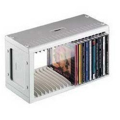 Подставка Hama H-48402 CD-Rack для 20СD (серебристый)
